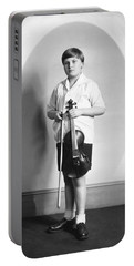 Violinist Yehudi Menuhin Portable Battery Charger