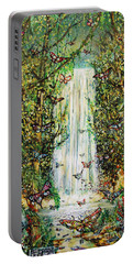 Waterfall Of Prosperity II Portable Battery Charger