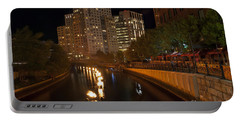 Waterfire.  Providence Rhode Island Portable Battery Charger