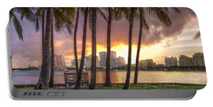 West Palm Beach Skyline Portable Battery Charger