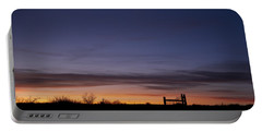 West Texas Sunset Portable Battery Charger
