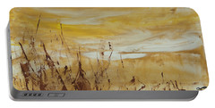 Wheat Fields Portable Battery Charger