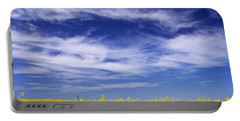 Portable Battery Charger featuring the photograph Where Land Meets Sky by Keith Armstrong