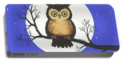 Whooo You Lookin' At Portable Battery Charger