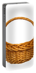 Wicker Basket Number Eleven Portable Battery Charger