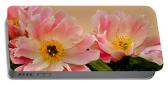 Wild Peony Portable Battery Charger