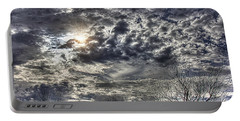 Winter Sky Portable Battery Charger by Tom Culver