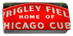 Wrigley Field Sign Portable Battery Charger