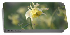 Yellow Columbine Portable Battery Charger