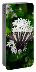 Zebra Swallowtail Portable Battery Charger