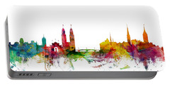Zurich Switzerland Skyline Portable Battery Charger