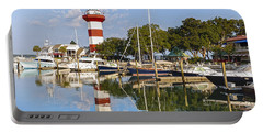 Lighthouse On Hilton Head Island Portable Battery Charger
