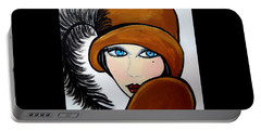 Art Deco  Gail Portable Battery Charger