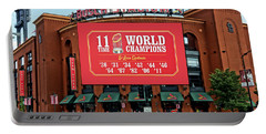 11 Time World Champion St Louis Cardnials Dsc01294 Portable Battery Charger by Greg Kluempers