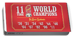 11 Time World Chapion Poster Dsc01106 Portable Battery Charger by Greg Kluempers