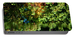 Portable Battery Charger featuring the photograph Autumn Light by Christiane Hellner-OBrien