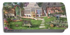 The Cottage Garden Portable Battery Charger