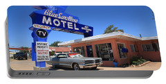 Route 66 - Blue Swallow Motel Portable Battery Charger
