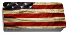 American Flag 59 Portable Battery Charger