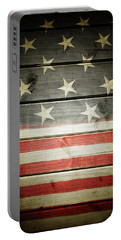 American Flag 58 Portable Battery Charger
