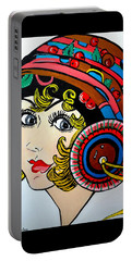 Art Deco  Ann Portable Battery Charger by Nora Shepley
