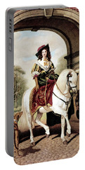 1600s Woman Riding Sidesaddle Painting Portable Battery Charger