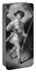 1700s 1770s A Morgans Rifleman Wearing Portable Battery Charger