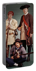 1700s 1776 Colonial Militiamen Portable Battery Charger