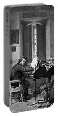 1800s 1811 Painting By Schloesser Portable Battery Charger