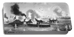 1860s March 9 1863 Naval Combat Battle Portable Battery Charger