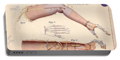 1865 Artificial Limbs Patent Drawing Portable Battery Charger