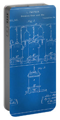 Portable Battery Charger featuring the digital art 1873 Brewing Beer And Ale Patent Artwork - Blueprint by Nikki Marie Smith
