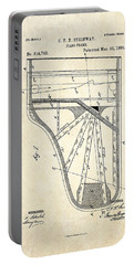 1885 Steinway Piano Frame Patent Art Portable Battery Charger by Gary Bodnar