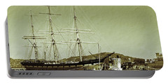 1886 Balclutha Portable Battery Charger by Holly Blunkall