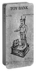 1886 Toy Bank Patent Charcoal Portable Battery Charger