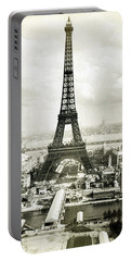 1889 Parisian Panorama Portable Battery Charger by Historic Image