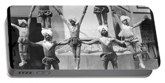 1904 World's Fair Acrobats Mysterious Asia Section Portable Battery Charger