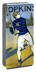 1905 - Johns Hopkins University Lacrosse Poster - Color Portable Battery Charger