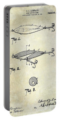 1909 Fishing Lure Patent Drawing Portable Battery Charger