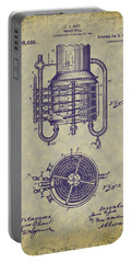1909 Jett Whiskey Still Patent Portable Battery Charger