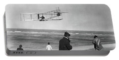 1911 One Of The Wright Brothers Flying Portable Battery Charger
