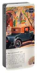1927 - Chevrolet Advertisement - Color Portable Battery Charger