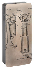 1930 Drink Mixer Patent Portable Battery Charger