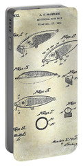 1932 Fishing Patent Drawing  Portable Battery Charger