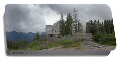 1933 Ccc Forest Ranger Station At Mt Baker Washington Portable Battery Charger by Tom Janca
