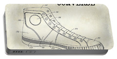 1934 Converse Shoe Patent Drawing Portable Battery Charger