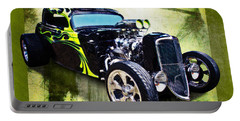 1934 Ford Three Window Coupe Hot Rod Portable Battery Charger
