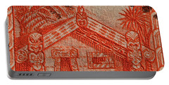 1935 Carved Maori House New Zealand Stamp Portable Battery Charger