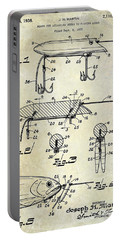 1935 Fishing Lure Patent Portable Battery Charger