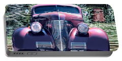1939 Chevy Immenent Front Original Portable Battery Charger by Lesa Fine